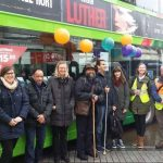 LDPO members in Leeds with local public transport